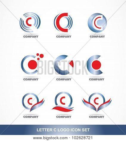 Letter C Logo Icon Set