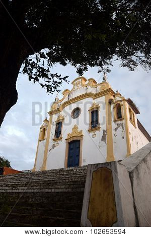 Antique church in Fernando de Noronha,Brazil