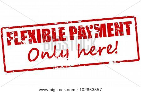Flexible Payment Only Here