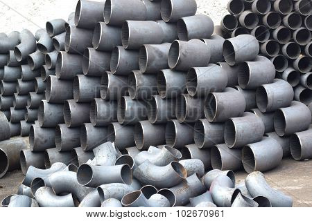 Pipes and bends steel