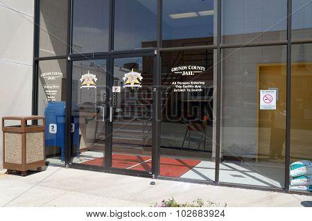 Grundy County Jail Entrance