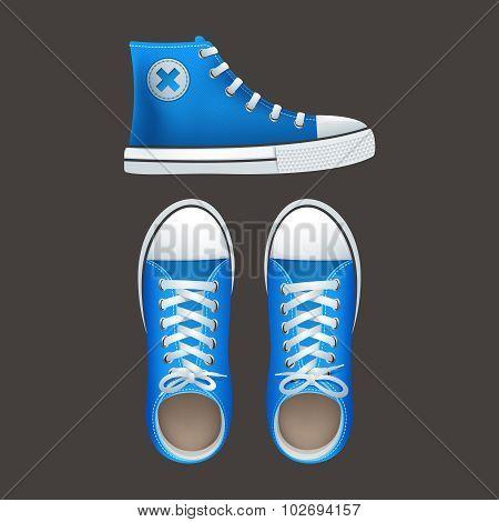 Sneakers tennies popular youth footwear icons