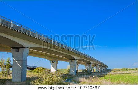 Concrete Highway Bridg