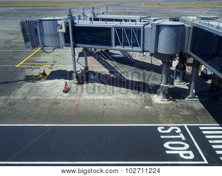 Gangways For The Plane