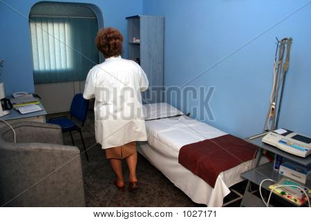 Ecograf.Medical Examination Room