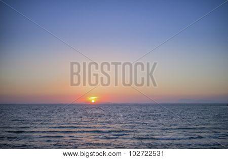 Sunset on Holiday