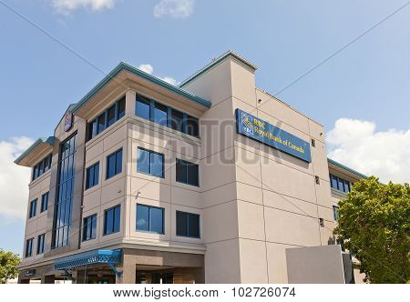 Office Of Rbc In George Town Of Grand Cayman Island