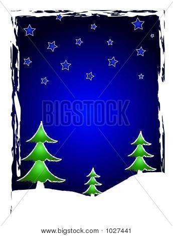 Christmas Trees And Stars