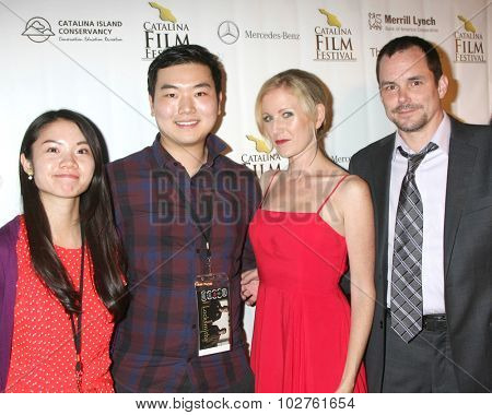 LOS ANGELES - SEP 24:  Locksmiths at the Catalina Film Festival Craven Horrow Reception at the Hotel Metropole on September 24, 2015 in Avalon, CA