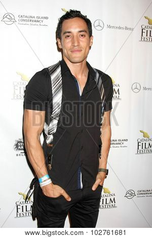LOS ANGELES - SEP 24:  Keahu Kahuanui at the Catalina Film Festival Craven Horrow Reception at the Hotel Metropole on September 24, 2015 in Avalon, CA