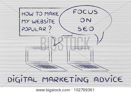 Blogging Advice: Focus On Seo