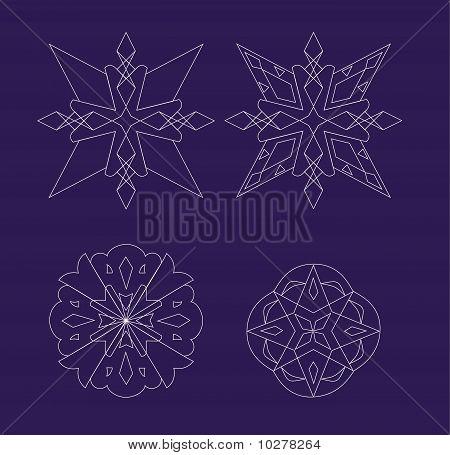 Snowflake set2