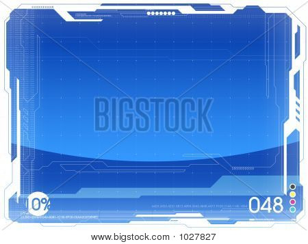 2D Graphics Blank Background