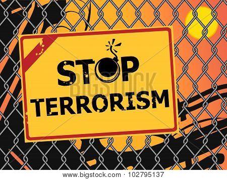 Stop Terrorism.