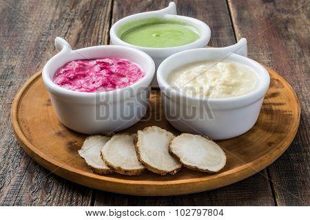 Pungent Spices Prepared Of Horseradish
