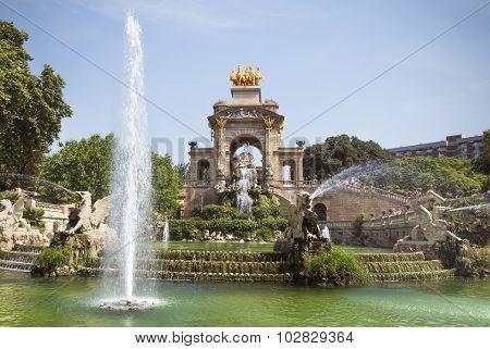 Carro De La Aurora Fountain