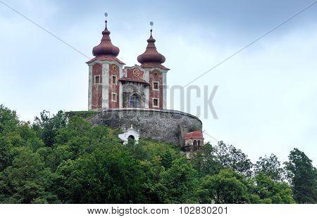 Church In Banska Stiavnica (slovakia)