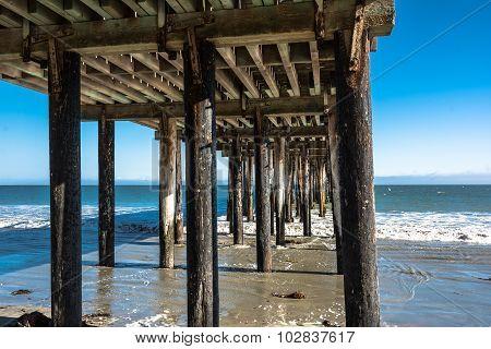 The pier in Avila Beach, California