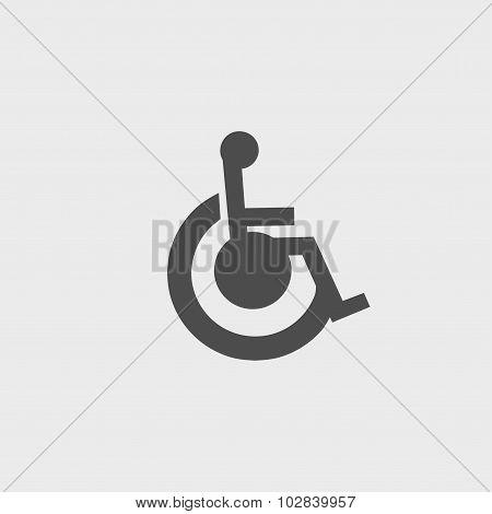 Cripple Flat Simple Icon