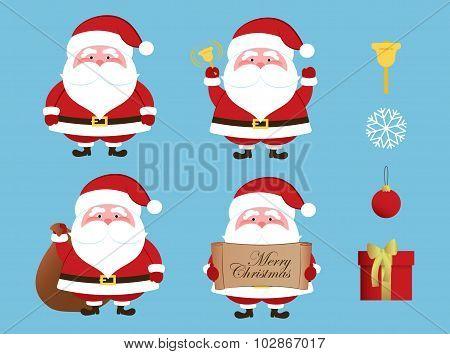 Christmas set - Santa Claus