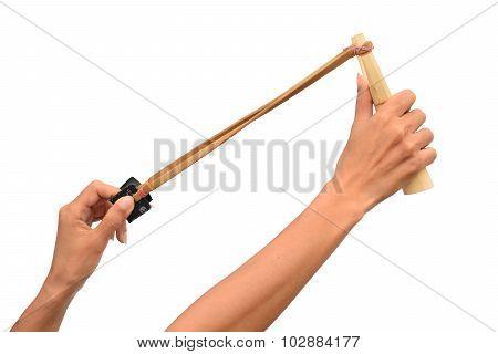 Catapult Slingshot