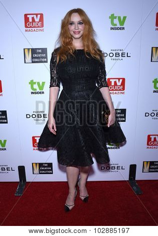 LOS ANGELES - SEP 18:  Christina Hendricks Television Industry Advocacy Awards  on September 18, 2015 in Hollywood, CA