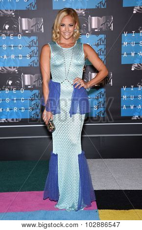 LOS ANGELES - AUG 30:  Amy Paffrath 2015 MTV Video Music Awards - Arrivals  on August 30, 2015 in Hollywood, CA