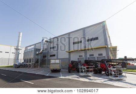 Waste Plant Outside