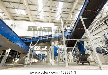 Biomass Waste Plant Inside