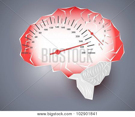 Maximum Speed Of The Human Brain