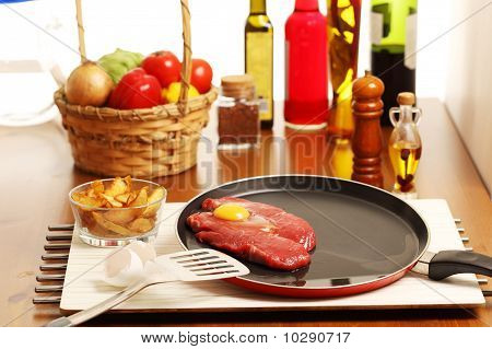 Beef Sirloin And Other Ingredients