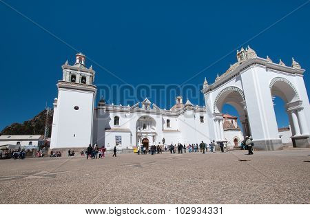 Church Of Copacabana Town, Bolivia