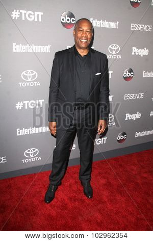 LOS ANGELES - SEP 26:  Joe Morton at the TGIT 2015 Premiere Event Red Carpet at the Gracias Madre on September 26, 2015 in Los Angeles, CA
