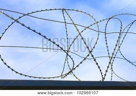spiral barbed wire