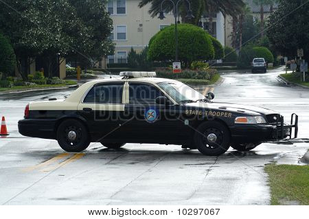 State Highway Patrol Car