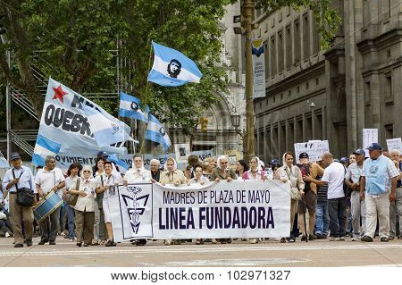 Madres De La Plaza De Mayo - Mothers Of Mayo Square