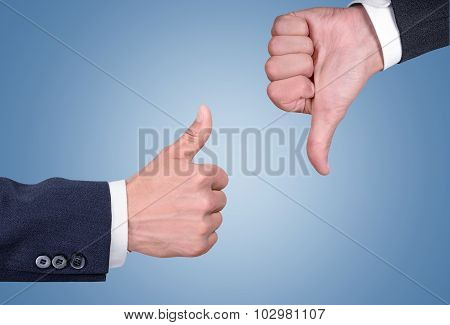 ConflictThumbs Up.