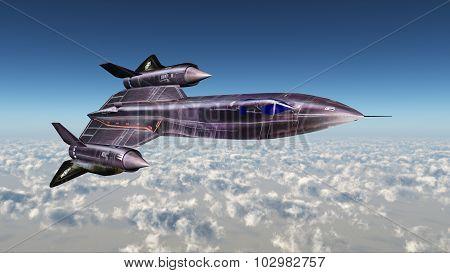 Strategic Reconnaissance Aircraft Blackbird
