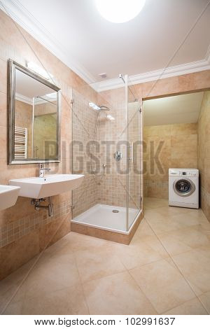 Bright And Spacious Bathroom