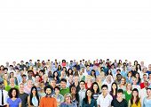 Diverse Diversity Ethnic Ethnicity Togetherness Unity Concept poster