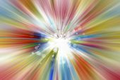 Bright blast of color background  poster