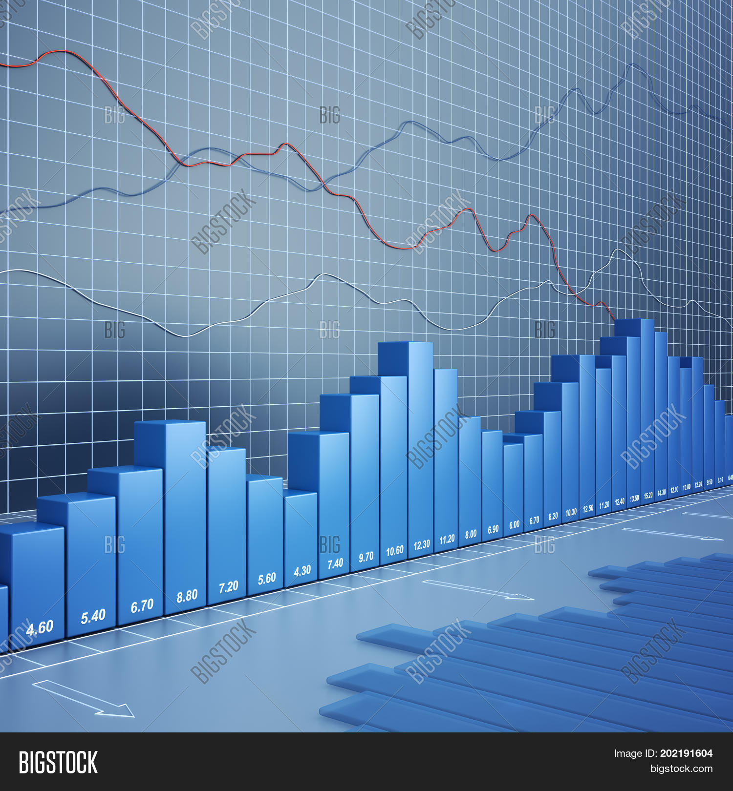 finance chart high image photo free trial bigstock finance chart high image photo free