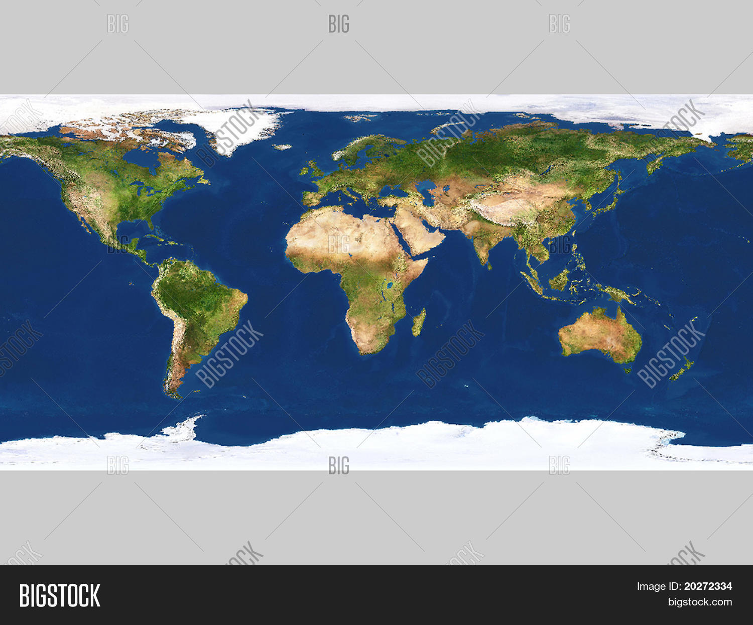Real Looking Earth Map Image Photo Free Trial Bigstock