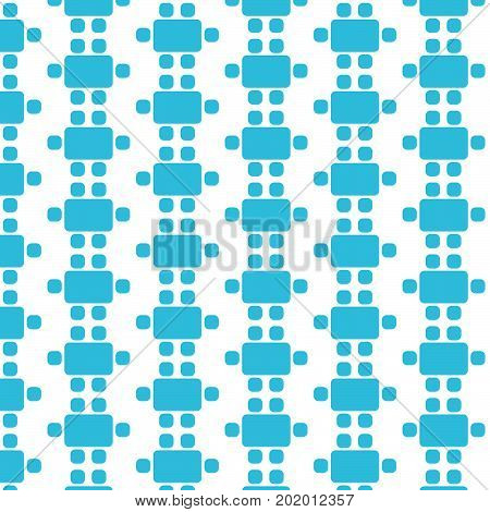 Pattern background Top View Dinning Furniture Icon