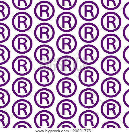 an images of Pattern background Registered Trademark icon