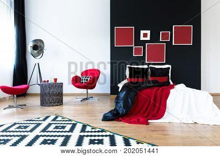 Spacious Design Bedroom