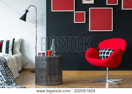 Creative Table In Simple Bedroom