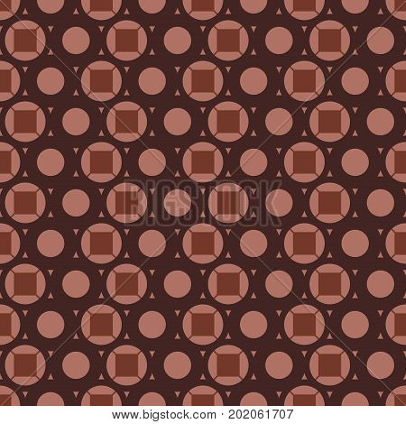 Vintage textile, Seamless pattern inspired by retro style