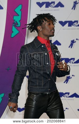 LOS ANGELES - AUG 27:  Lil Uzi Vert at the MTV Video Music Awards 2017 at The Forum on August 27, 2017 in Inglewood, CA