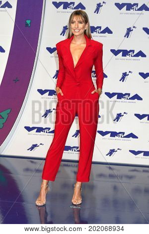 LOS ANGELES - AUG 27:  Renee Bargh at the MTV Video Music Awards 2017 at The Forum on August 27, 2017 in Inglewood, CA